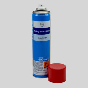 Bayer Fly Spray with Cap Off
