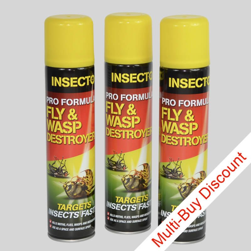 Insecto Wasp Spray Set of 3 Cans