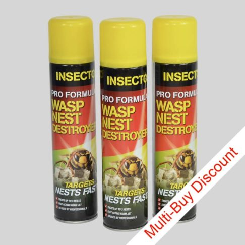 Insecto Wasp Nest Destroyer Set of 3