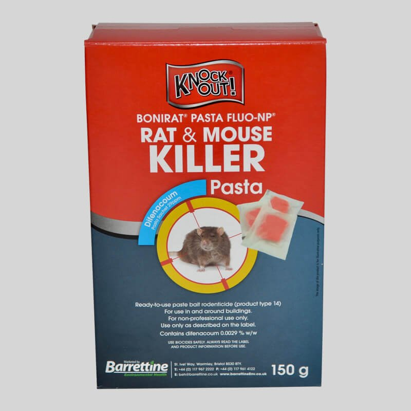 1 box of Knockout Rat Killer Pasta