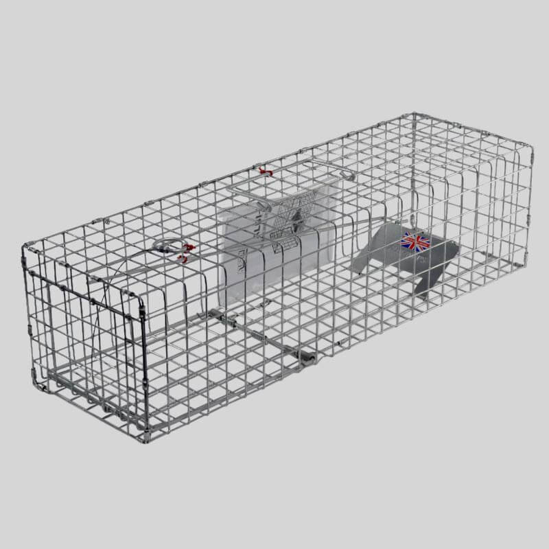 Mink or Squirrel cage trap