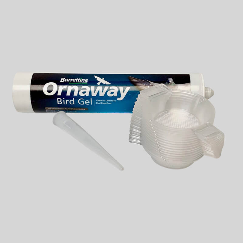 Ornaway Bird Repellent Gel Side View