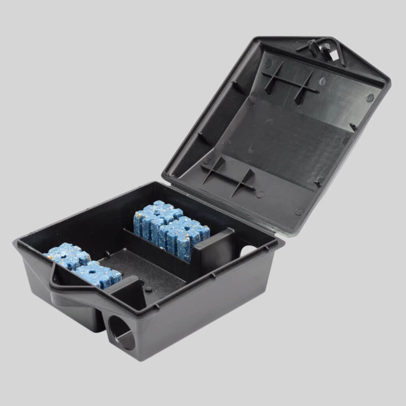 Protecta mouse bait box hold block bait