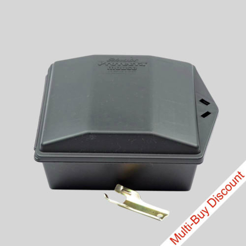 Proteca mouse bait box with key