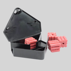 Protecta RTU Mouse Bait Box With Bait Inside and Outside