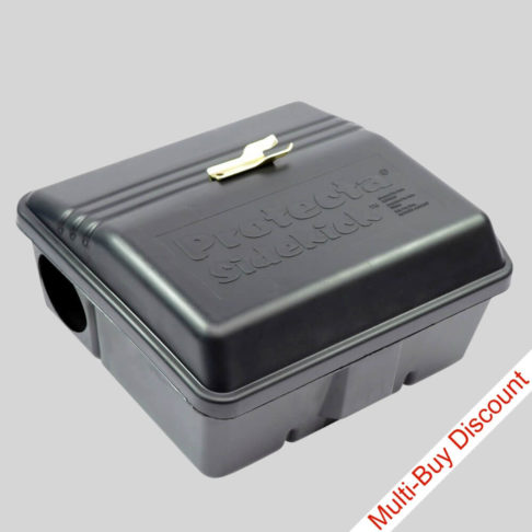 Protecta Sidekick rat bait box with key