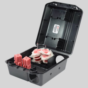 Protecta Sidekick Rat Bait Box Holding Block Bait and Poison Sachets