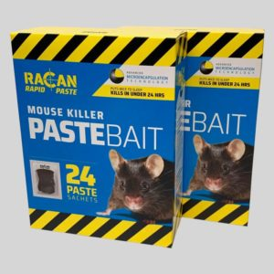 2 boxes of Racan Rapid Mouse Killer Paste
