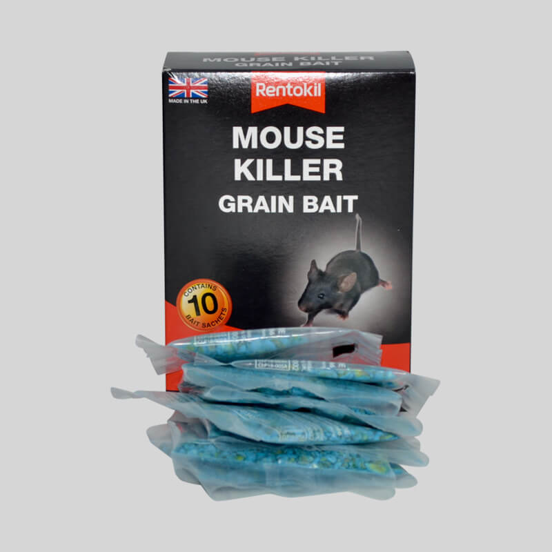 Rentokil Mouse Killer Grain bait In sachets