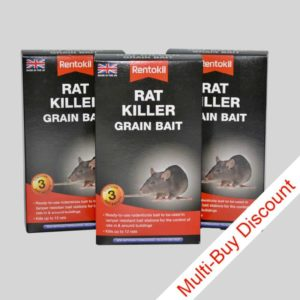 Rentokil rat killer grain bait in sachets