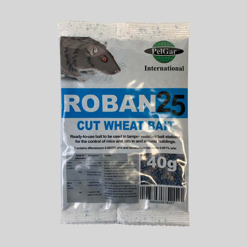 Roban Cut Wheat Mouse Poison Single Sachet