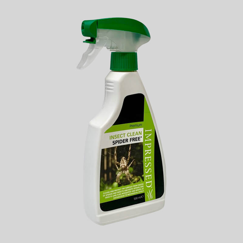 Spider Repellent Spray Side View