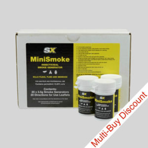 SX Insect MiniSmoke Bomb Box and 3 Smoke Bombs