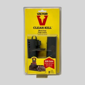 Victor Clean-Kill Mouse Traps in Packaging