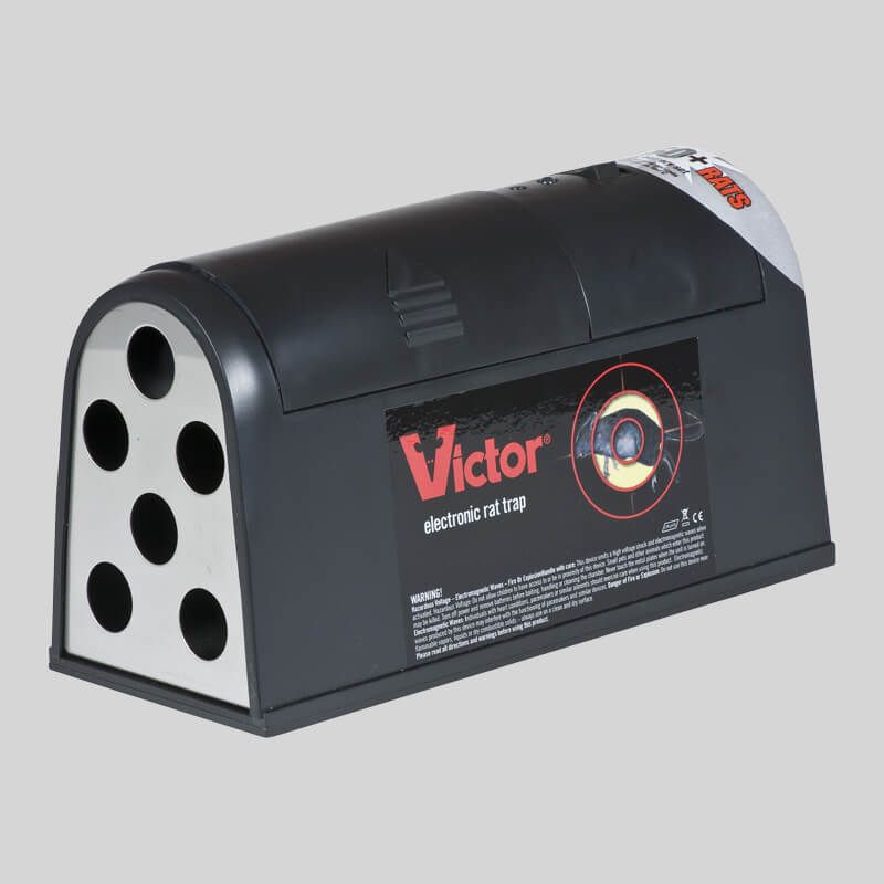 Victor Electronic Rat Trap Side View