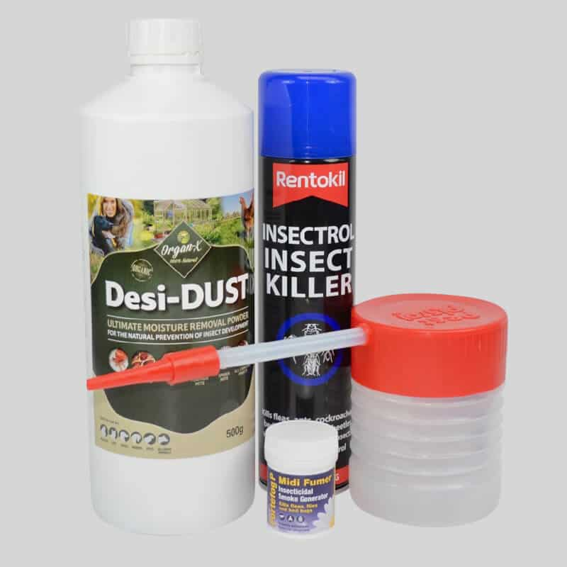 Products supplied in Woodlice Killer Kit