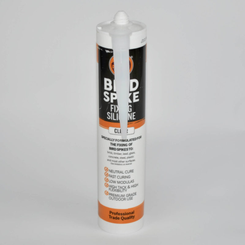 Defender Bird Spike Fixing Silicone and applicator tube