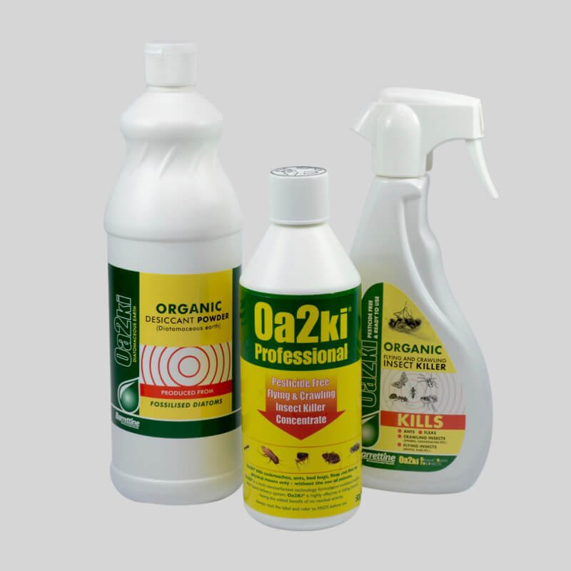 Oa2ki Organic Flea Control Products