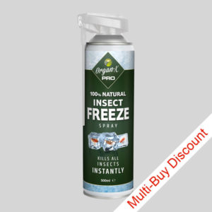 Organ X Bedbug Freeze Spray