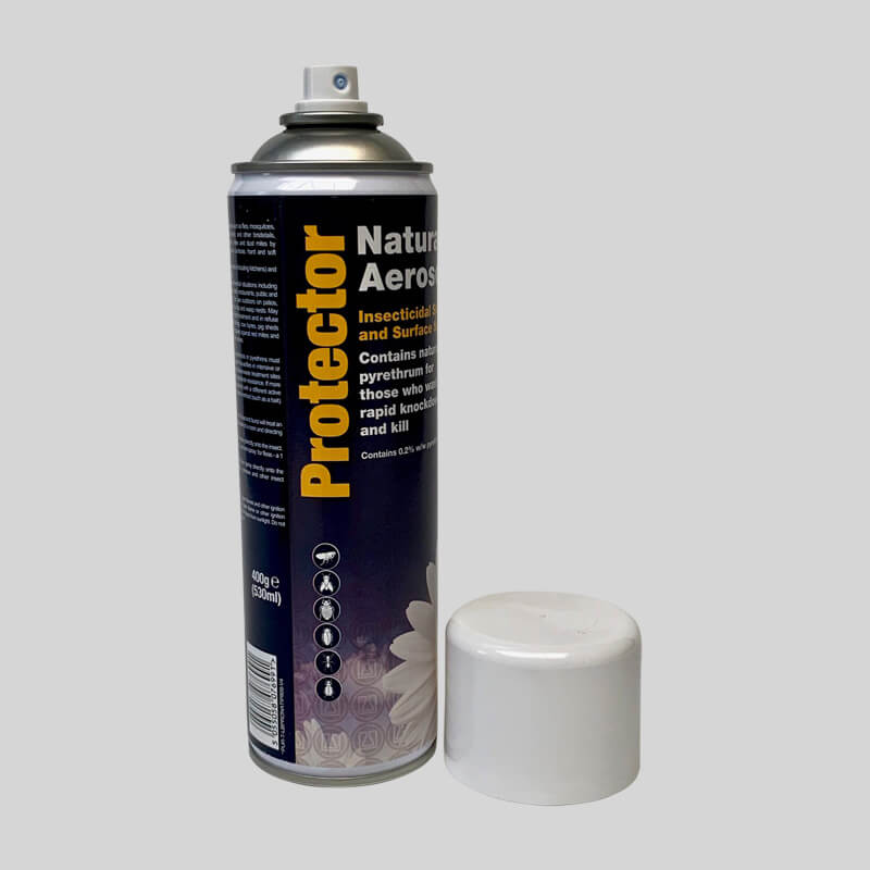 Protector Natural Booklice Killer With Cap Off