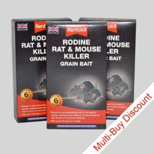 Rentokil Rodine Rat Killer Set of 3 Packs