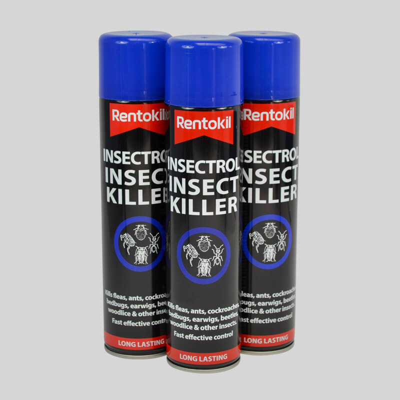 Rentokil Insectrol Cockroach Killer Set of 3 Cans