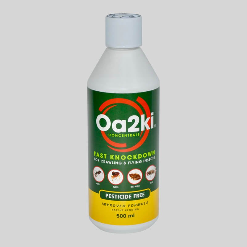Oa2ki Professional Concentrate with insect powder and trigger spray