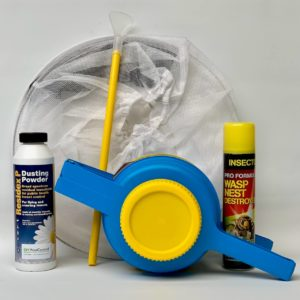 Easy to use wasp nest control kit