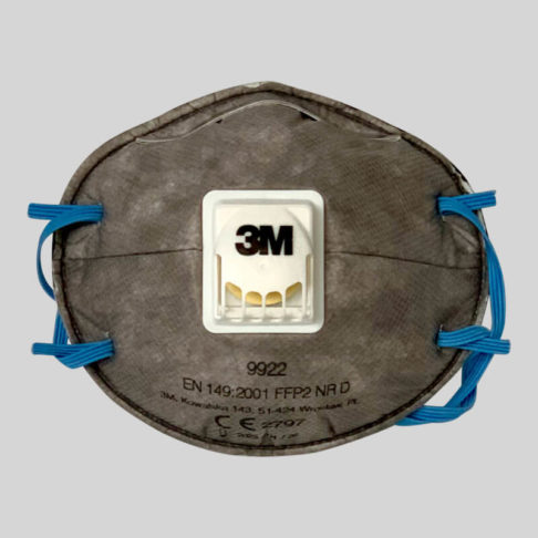3M face mask protection from insecticide dusts and spays