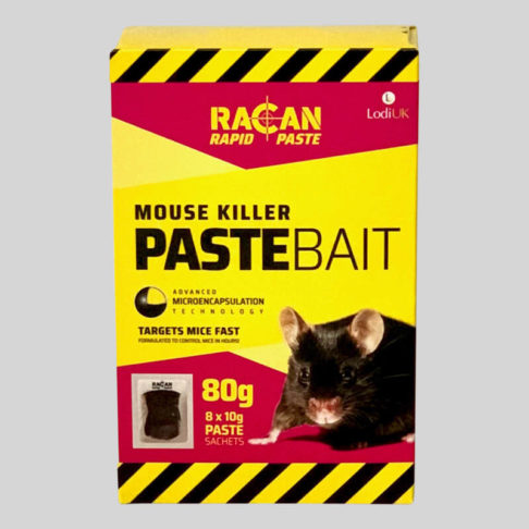 Racan Mouse Killer Paste Bait 8 x 10g sachets