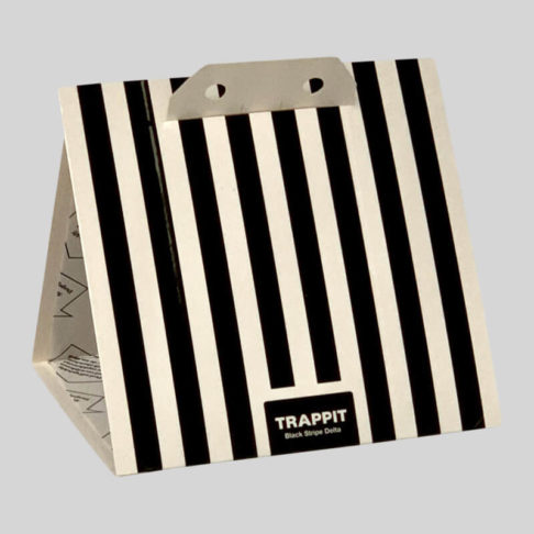 TRappit Delta Black Stripe Clothes Moth Trap with lures