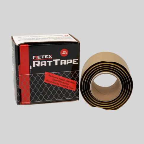 Self adhesive rat and mouse proofing tape