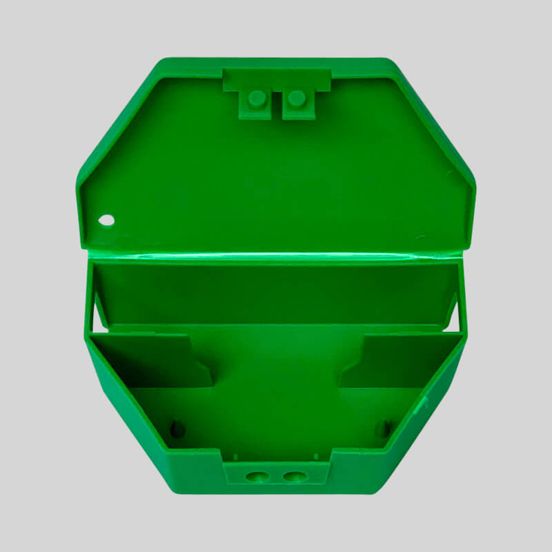 Micro-Mouse bait box great for paste or grain poison