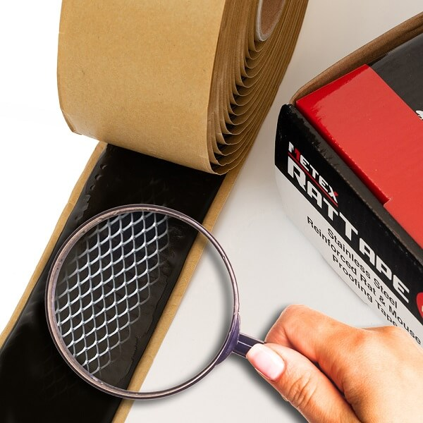 Metex stainless steel rat and mouse proofing tape